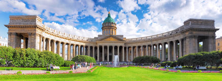 Katedra Nasz Dama Kazan, Świątobliwy Petersburg zdjęcie stock