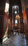 Katedra Nasz dama Smolensk klasztor novodevichiy Zdjęcia Royalty Free