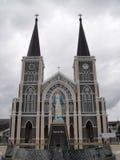 Katedra Niepokalany poczęcie, Chanthaburi Fotografia Royalty Free