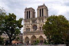 Katedra notre dame de paris obraz stock