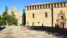 katedra nowa Salamanca Fotografia Royalty Free