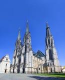 Katedra, Olomouc, republika czech zdjęcie royalty free
