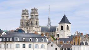 Katedra Orléans, francuski miasto zbiory wideo
