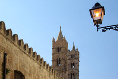 Katedra Palermo Zdjęcia Royalty Free