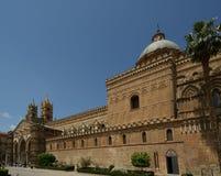 Katedra Palermo, Sicily, południowy Włochy Obrazy Stock