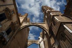 Katedra Palermo, Sicily, południowy Włochy Zdjęcie Royalty Free