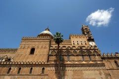 Katedra Palermo, Sicily, południowy Włochy Zdjęcie Stock