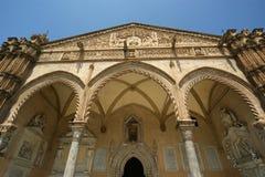 Katedra Palermo, Sicily, południowy Włochy Obraz Royalty Free