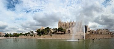 Katedra Palma De Majorca Obraz Royalty Free