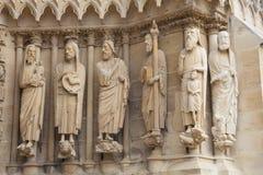 Katedra Reims Obraz Royalty Free
