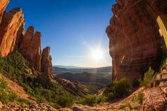 Katedra Rockowy szczyt Fotografia Stock