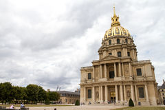 katedra sławny Paryża Obrazy Royalty Free