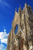 katedra s Siena zdjęcia stock