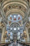 Katedra Salzburg Zdjęcia Royalty Free