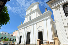 Katedra San Juan Bautista, San Juan, Puerto Rico Obraz Stock