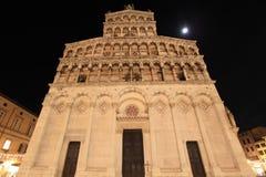 Katedra San Michele Lucca fotografia royalty free