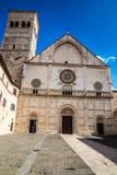 Katedra San Rufino, Assisi -, Umbria, Włochy Obraz Stock