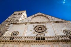 Katedra San Rufino, Assisi -, Umbria, Włochy Zdjęcie Stock