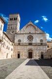 Katedra San Rufino, Assisi -, Umbria, Włochy Obraz Royalty Free