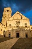 Katedra San Rufino, Assisi -, Umbria, Włochy Zdjęcie Royalty Free