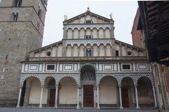 Katedra San Zeno Pistoia tuscany Włochy zdjęcie royalty free