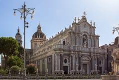 Katedra Santa Agat, Catania, Włochy Zdjęcie Royalty Free