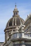 Katedra Santa Agat w Catania Fotografia Stock