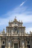 Katedra Santa Agat w Catania Zdjęcie Royalty Free