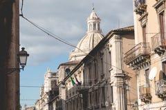 Katedra Santa Agatha w Catania w Sicily, Włochy Obrazy Stock