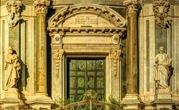 Katedra Santa Agatha w Catania w Sicily, Włochy Zdjęcia Royalty Free