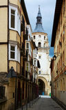 Katedra Santa Maria De Vitoria Vitoria-Gasteiz, Hiszpania Zdjęcie Royalty Free