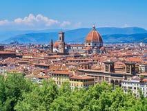 Katedra Santa Maria Del Fiore, Florencja, Tuscany, W?ochy fotografia royalty free