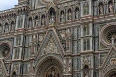 Katedra Santa Maria Del Fiore i Baptistery St JohnBa Obrazy Royalty Free
