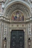 Katedra Santa Maria Del Fiore i Baptistery St JohnBa Zdjęcie Stock