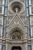 Katedra Santa Maria Del Fiore i Baptistery St JohnBa Obraz Royalty Free