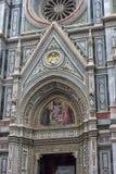 Katedra Santa Maria Del Fiore i Baptistery St JohnBa Zdjęcia Royalty Free