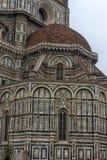 Katedra Santa Maria Del Fiore i Baptistery St JohnBa Zdjęcie Royalty Free