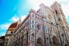 Katedra Santa Maria Del Fiore w Florencja Zdjęcia Royalty Free