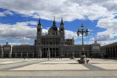 Katedra Santa Maria los angeles Real De Los angeles Almudena, Madryt, Hiszpania Zdjęcie Stock