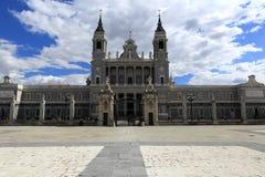 Katedra Santa Maria los angeles Real De Los angeles Almudena, Madryt, Hiszpania Fotografia Royalty Free