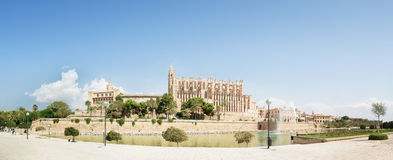 Katedra Santa Maria Palma Zdjęcia Royalty Free
