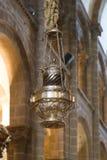 Katedra Santiago botafumeiro zbliżenie Fotografia Royalty Free