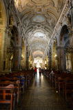 Katedra Santiago de Chile Zdjęcie Stock