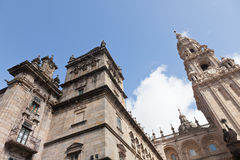 Katedra Santiago De Compostela Zdjęcie Stock