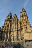 Katedra Santiago De Compostela Obraz Royalty Free