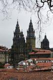 Katedra Santiago De Compostela Fotografia Royalty Free