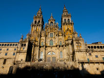 Katedra Santiago De Compostela, Hiszpania Obraz Royalty Free