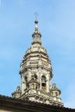 Katedra Santiago De Compostela (Hiszpania) zdjęcie stock