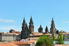 Katedra Santiago De Compostela Zdjęcie Royalty Free