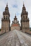 Katedra Santiago De w Hiszpania Compostela Fotografia Royalty Free